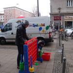 Spielmobil in Aktion