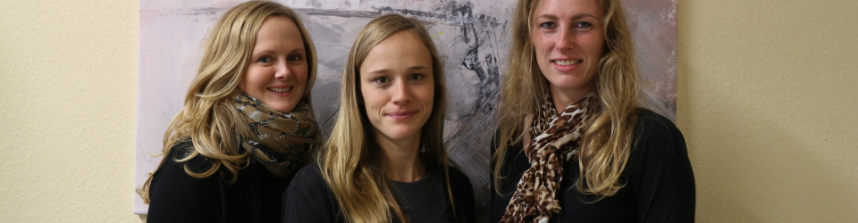 von links: Kristin Siersleben, Jasmin Kant, Maria Meyer