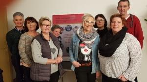 Frisch ausgebildete Berater*innen des Kinder- und Jugendtelefons Halberstadt