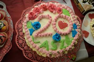 Die wundervolle Geburtstagstorte von Frau Otte