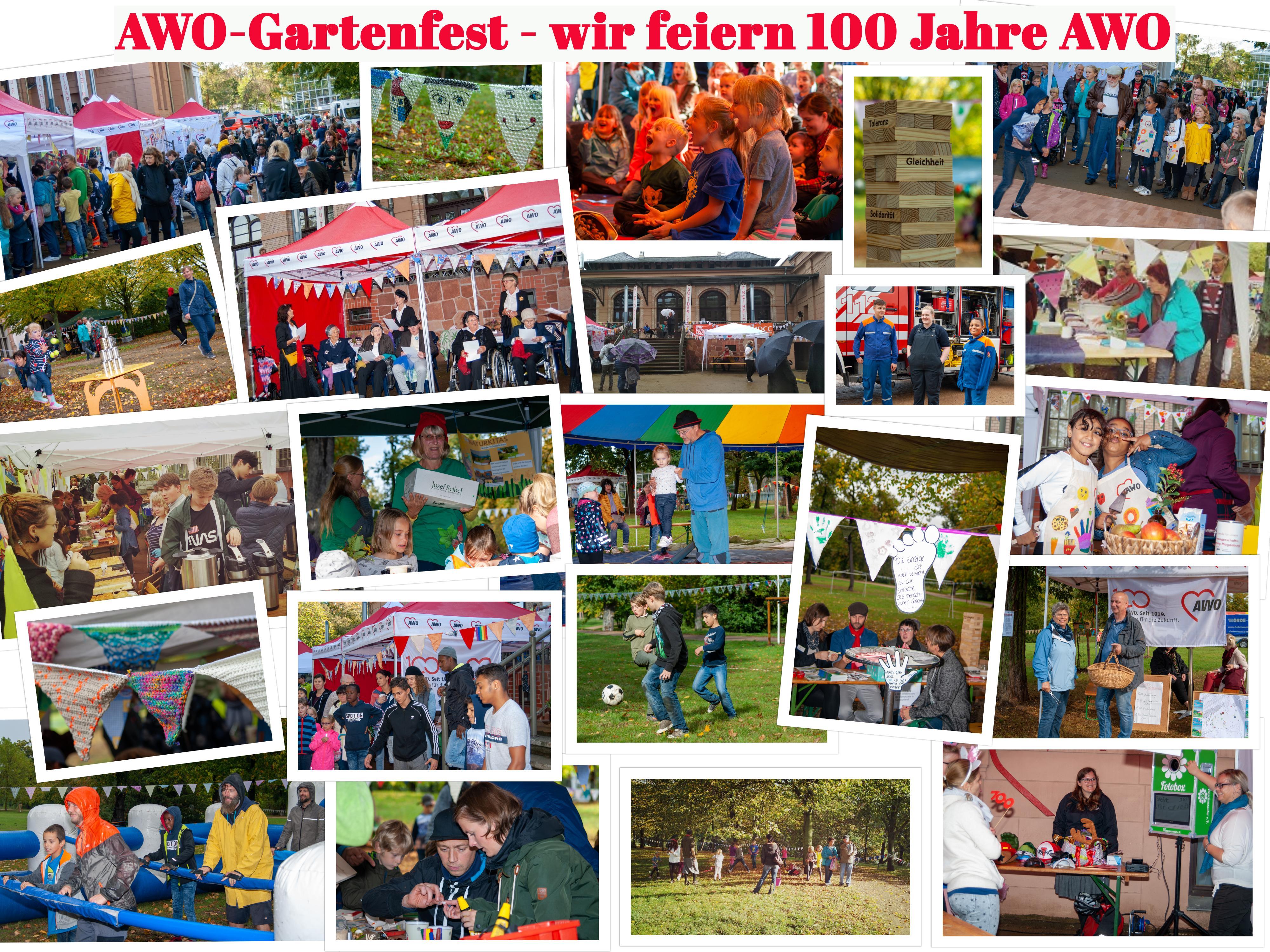 collage AWO Gartenfest