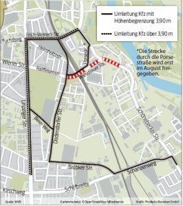 Anfahrt Thiemstraße
