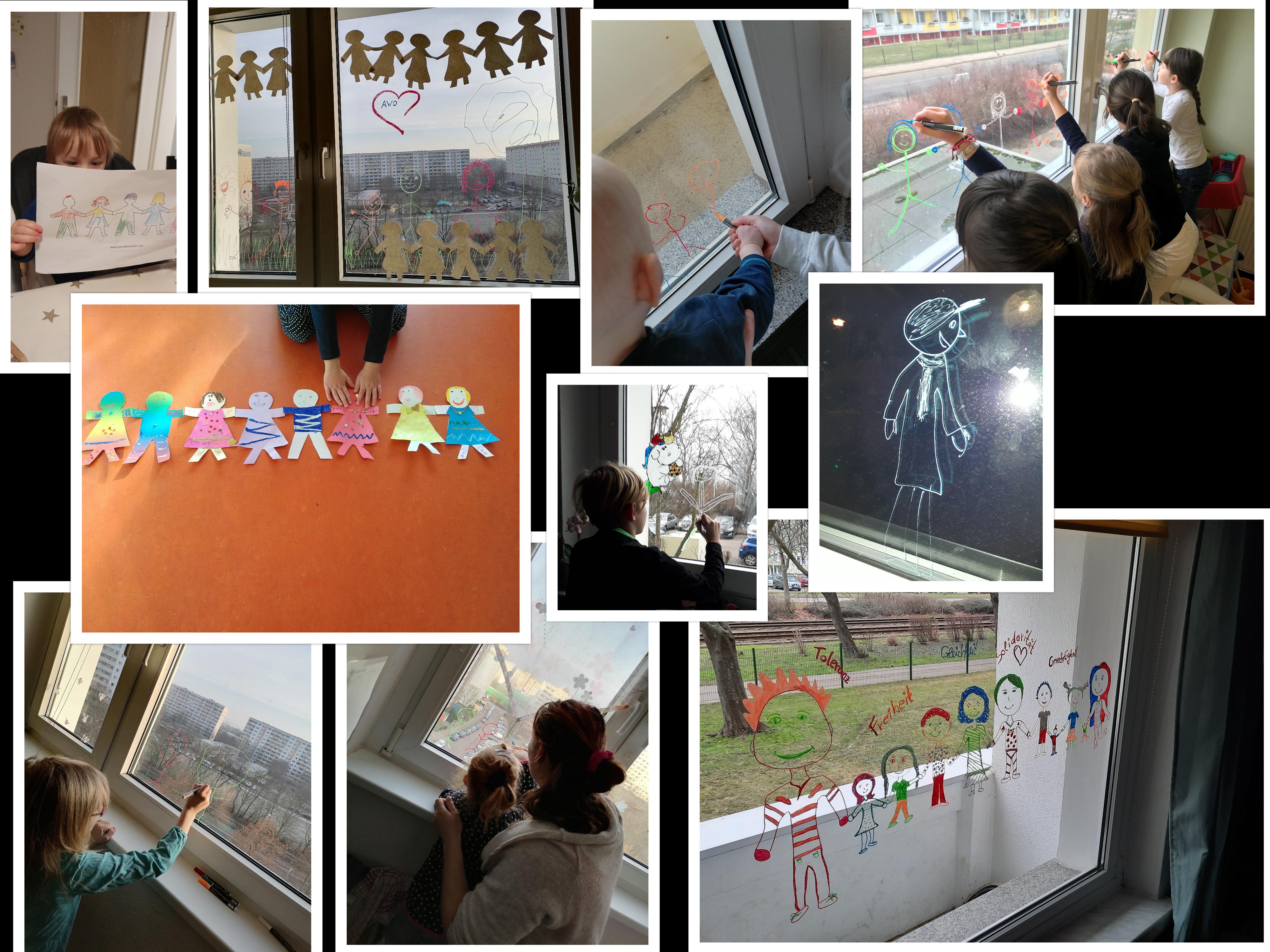 collage Erziehungshilfen